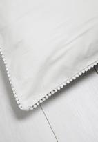 Sixth Floor - Poppy lace pillowcase set