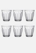 Duralex - Picardie tumblers - 250ml set of 6