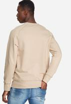 basicthread - Basic pullover crew sweat