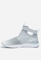 Puma W Fierce Strap Metallic - 18992-302 - Puma White PUMA Trainers ... 71ffef642