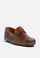 basicthread - Reginald leather loafer