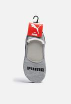 PUMA - 3 pack invisble socks