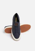 4980459eb0333c Superga 2750 Nylon Quilt LO Water Shield - Navy SUPERGA Sneakers ...