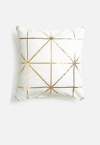 Sixth Floor - Diamond foil cushion cover