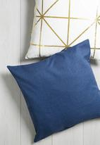 Sixth Floor - Ensign blue cushion