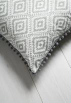 Sixth Floor - Aztec geo cushion cover