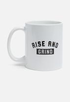 Sixth Floor - Rise and grind mug
