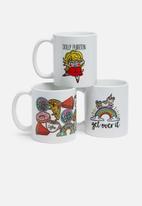 Sixth Floor - Get over it mug