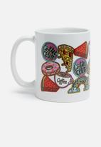 Sixth Floor - Badges mug