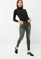 Missguided - Long sleeve turtle neck bodysuit