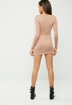 Missguided - Harness detail bodycon dress