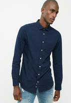 basicthread - Denim long sleeve shirt