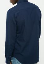 basicthread - Denim long sleeve shirt