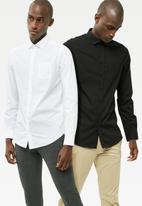 basicthread - 2 Pack Regular Fit Poplin shirt