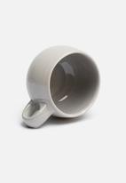 Urchin Art - Mug platter set - grey