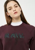 G-Star RAW - Bylzia cropped sweat