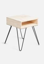 Sixth Floor - Hairpin bedside table