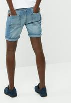 PRODUKT - Slim denim shorts