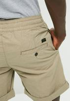 PRODUKT - Elasticated chino shorts