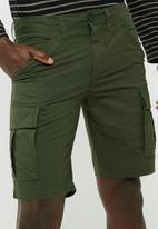 PRODUKT - Slim cargo shorts