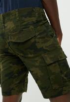 PRODUKT - Canvas cargo shorts