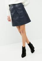 ONLY - Lisa pu leather skirt