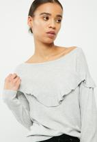 ONLY - Freya boatneck sweater
