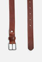 Selected Homme - Poul leather belt
