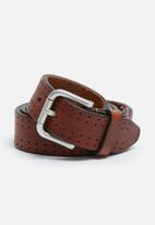 Selected Homme - Peter leather belt