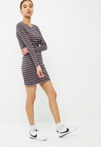 Jacqueline de Yong - Sierra rib dress