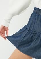 Vero Moda - Emilia chambray skirt