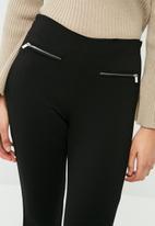 Vero Moda - Stormy zip ankle pants