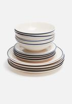 Mason Cash - Varsity dinner plate - set of 4
