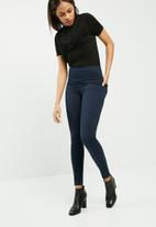 Pieces - Betty high waisted jeggings