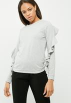 Vero Moda - Frilly frill sweat