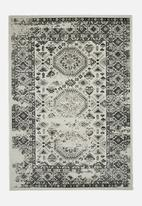 Hertex Fabrics - Karim salt and pepper rug - grey