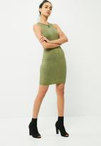 Missguided - Racer neck bodycon dress