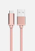 Muvit - Bling micro usb braided cable
