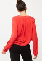 dailyfriday - Soft gathered blouse