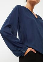 dailyfriday - Soft gathered blouse