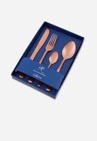 Nicolson Russell - Bella Casa rose gold matte 4 piece cutlery set