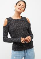 Vero Moda - Jive cold shoulder knit