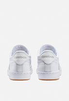 Reebok Classic - Club C - white/light grey/gum