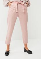 dailyfriday - Self tie cigarette pants