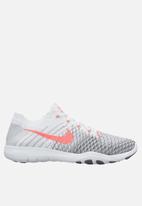 5c6d06801d47f Nike W Free TR Flyknit 2 - 904658-100 - White hyper punch grey Nike ...