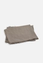 Sixth Floor - Linen napkin set of 2