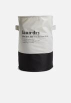 Sixth Floor - 2 Tone crunchy laundry bag