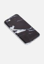 Hey Casey - Marble black ice - iPhone & Samsung cover