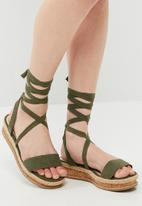 dailyfriday - Cork flatform sandal