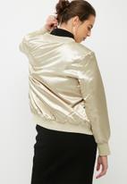 VILA - Concrete sateen bomber jacket
